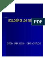 Ecologia de Insectos