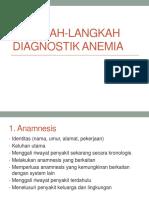 Langkah-Langkah Diagnostik Anemia Ppt