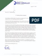 Dinallo - Letter 8-17-10