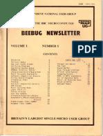 BEEBUG cover v1n5