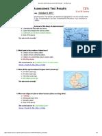 dynamic earth assessment test results - tom bennett