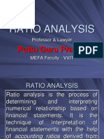 Financial Ratio Analysis Gp1 by Professor & Lawyer   Puttu Guru Prasad