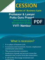 General Theories of Business Cycle Gp1 by Professor & Lawyer   Puttu Guru Prasad