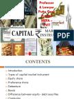 Instruments of Capital Markets Gp1  by Professor & Lawyer   Puttu Guru Prasad