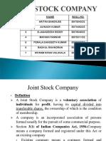 Joint Stock Company Gp2   by Professor & Lawyer Puttu Guru Prasad