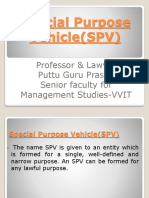 SPVs gp1  by Professor & Lawyer Puttu Guru Prasad