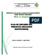 Plan de Difusión de Pei 2015