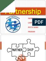 Kinds of Partners Gp1  by Professor & Lawyer Puttu Guru Prasad