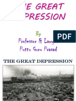The Great Depression Gp1  by Professor & Lawyer Puttu Guru Prasad