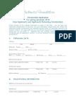 Studenica Foundation Scholarship Applicationform