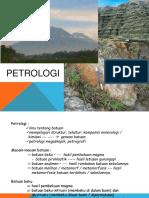 Kuliah Petro 1 (Pendahuluan)