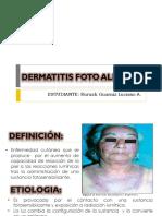 Dermatitis Fotoalergica Expo