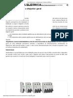 Como Dimensionar o Disjuntor Geral - Mundo Da Elétrica