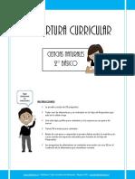 Cobertura Curricular Cnaturales 2basico 2012
