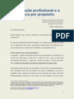 Motivação e Propósito - Rodrigo siqueira