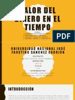 Valor Del Dinero en El Tiempo(EXPOSICIÓN)