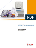 Sorvall ST 8 8R Centrifuges Manual