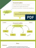 Geometría Analítica Recta y Plano