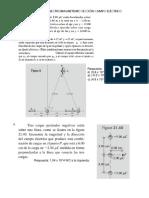 Ejercicios de Electromagnetismo Sección Campo Electrico