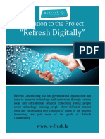 Info Pack Refresh Digitaly