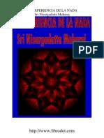 Sri Nisargadatta Maharaj - La Experiencia de La Nada