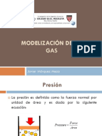 Modelización de Un Gas