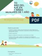 Fomento Temprano Del Lenguaje en Niños y Niñas