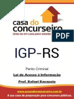 Apostila Igp Perito Lei de Acesso a Informacao Rafael Ravazolo