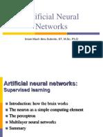 AI - 5 Artificial Neural Networks