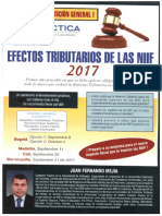Efectos Tributarios de Las NIIF 2017