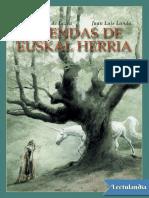 Leyendas de Euskal Herria - Toti Martinez de Lezea