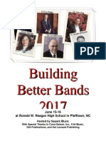 Building Better Bands2017