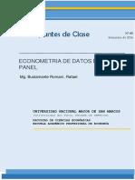 Apuntes de Clase Nro5 Datos de Panel