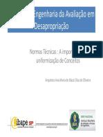 01 Ana Maria de Biazzi Dias de Oliveira Normas Técnicas a Importância Da Uniformização de Conceitos