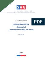 2016 Guía de Evaluación Ambiental Componente Fauna.pdf