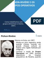 Pichon-rivière e Os Grupos Operativos Dinamica Grupo 17.08