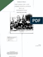 Di Meglio, Historia de Las Clases Populares en Argentina, Cap. 7