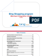 Bing Shopping Integration Guide-Jan 2012