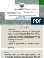 Journal Reading Rhinitis and Pregnancy