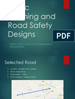 Traffic Calming and Road Safety Designs