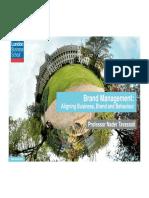 Brand Management MOOC Module1 Introduction