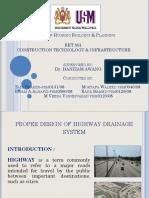 Diseño Apropiado Del Sistema de Drenaje en Carreteras_Zaid Shaker