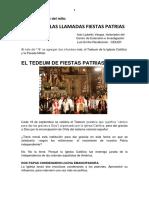 Más Sobre Las Llamadas Fiestas Patrias, Iván Ljubetic