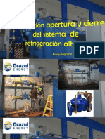 Sistema de Refrigeración Alterno - Central Hidroeléctrica Cañón del Pato