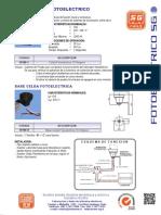 Interruptor Fotoelectrico SG