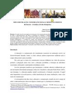 FREIRE, Maria Teresa Marins; Carvalho, Denise Werneck de. Educomunicação - Construção Social e Desenvolvimento Humano - Um Relato de Pesquisa