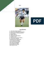 Diego Maradona Ultimo Recitacion