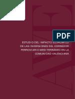Impacto Economico Inversiones Corredor Cv
