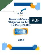 BASES DEL CONCURSO LP Brigadas en Acción 2010
