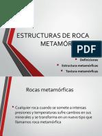 Estructuras de Roca Metamórficas